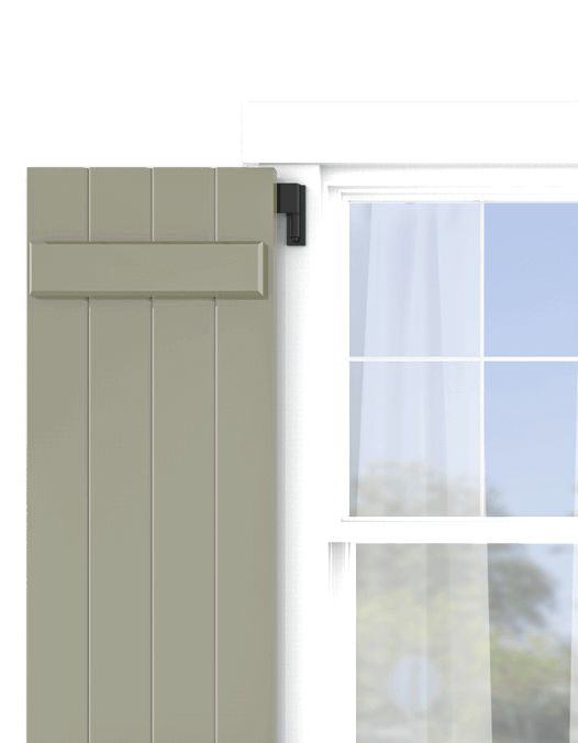 Shop Adorned Opening's board and batten exterior shutters and personalize them in just a few easy steps.