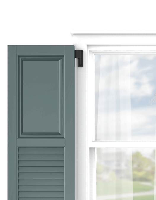 Shop Adorned Opening's panel and louver combination exterior shutters and personalize them in just a few easy steps.
