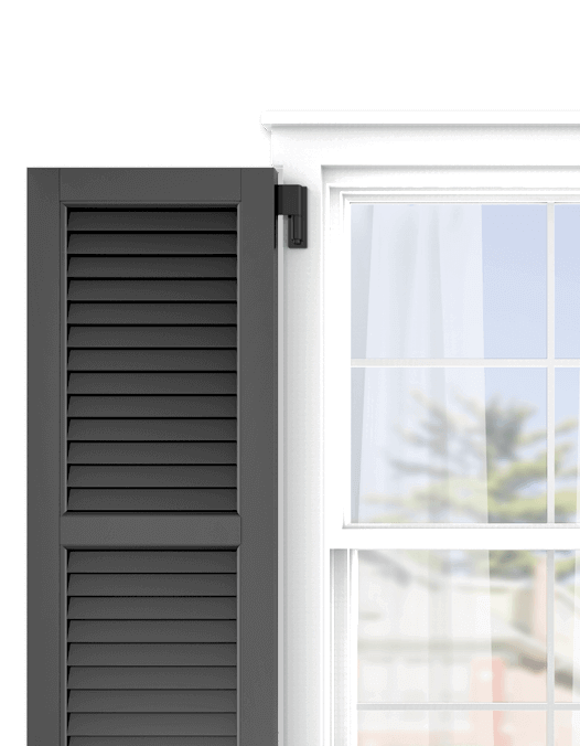 Shop Adorned Opening's louver exterior shutters and personalize them in just a few easy steps.