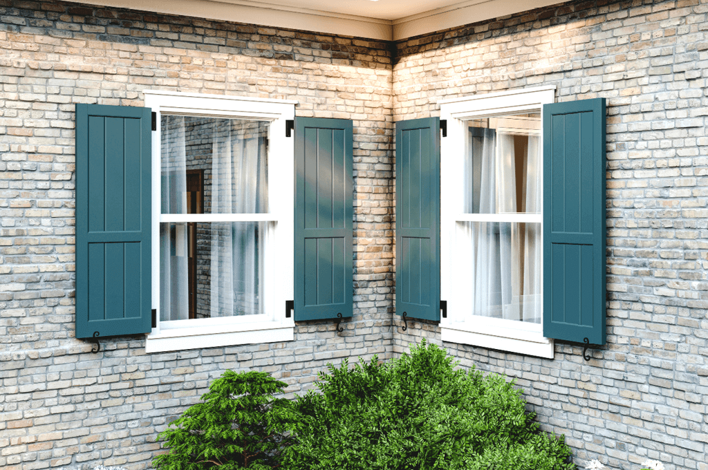 Adorned Openings offers decorative and functional shutter hardware including shutter hinges, tiebacks, shutter locks, and shutter pull rings.