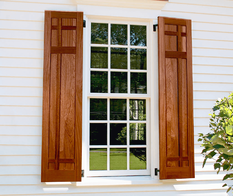 how to determine the cost of mahogany exterior shutters