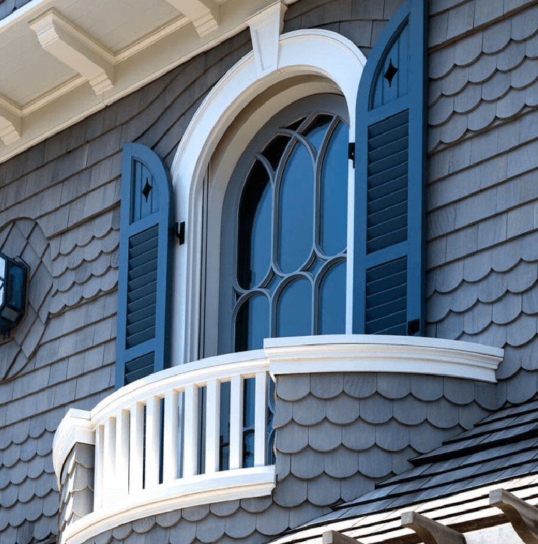 how to determine the cost of PVC exterior shutters