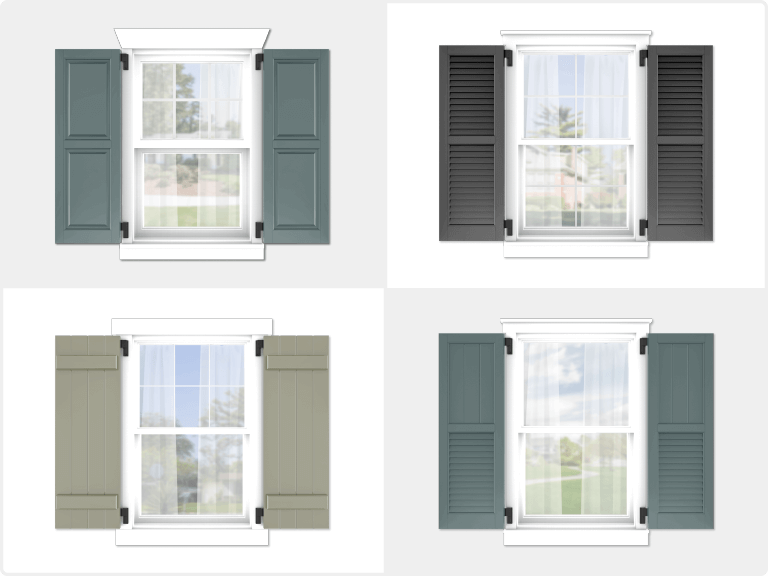 what are the benefits of composite wood exterior shutters