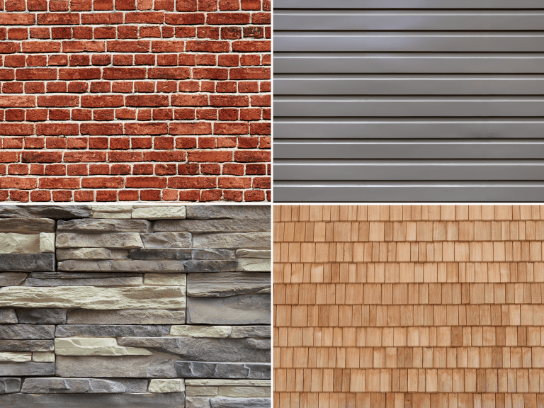 building materials that add texture to your home's exterior