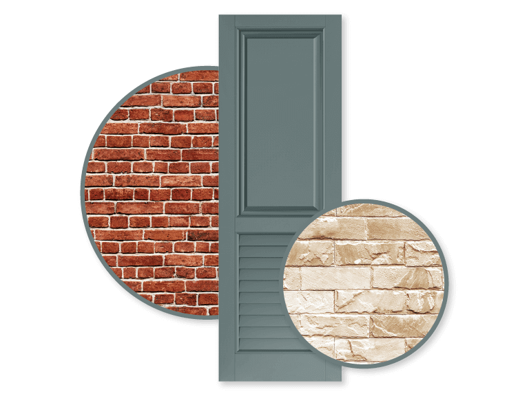 how to add texture to your home's exterior with brick siding
