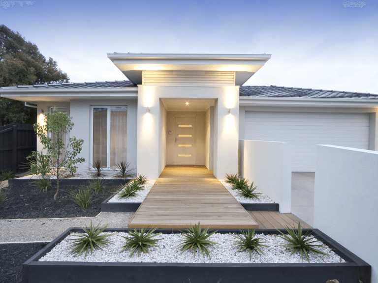 lighting tips for elevating your home's front entrance