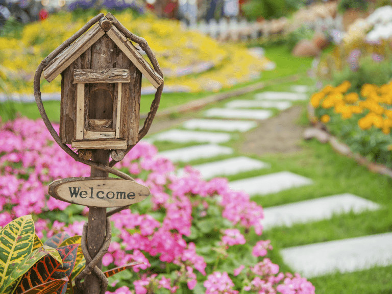 how to style a walkway to boost your home's curb appeal